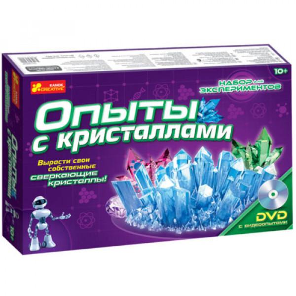 """15699 0320 Набор для экспериментов """"Опыты с кристаллами"""" 12114002Р"""