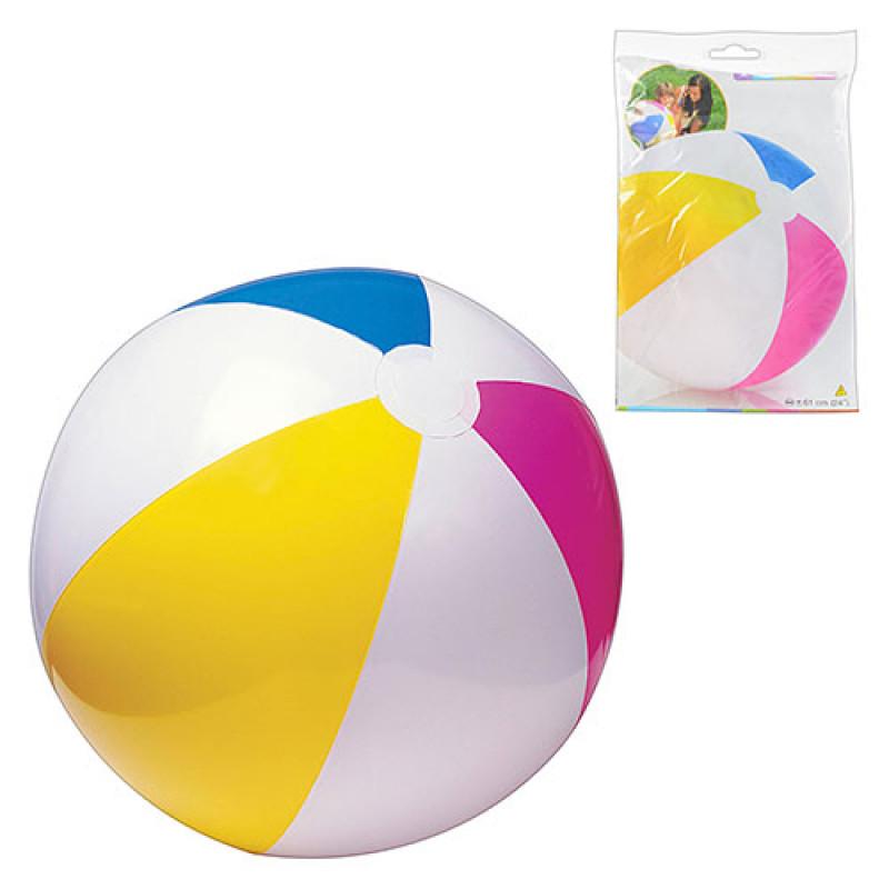 5541 Мяч 59030 (36шт) разноцветный, 61см, в кульке, 24-15,5см