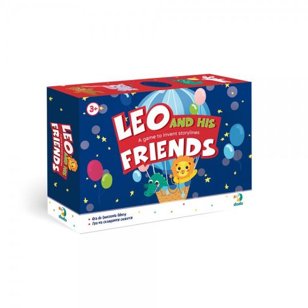 88332 300210 Гра на складання сюжету Лео та його друзі