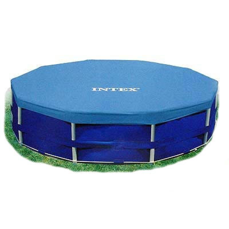 3118 Тент 28030 (6шт) для круглых каркасных бассейнов, диаметр 305см, в кор-ке, 25,5-23-11см