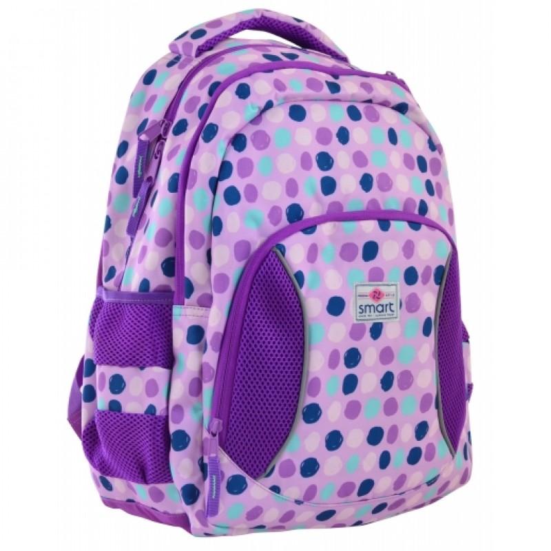 """79758 Рюкзак шкільний SG-25 """"Violet spots"""""""