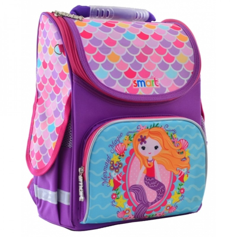 """79782 Рюкзак шкільний, каркасний PG-11 """"Mermaid"""""""