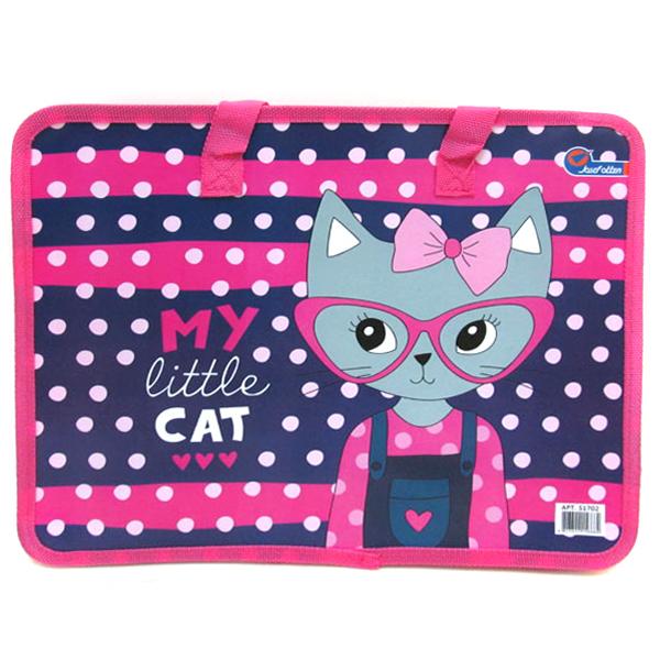 "30791 S1702 Сумка с ручками ""My little cat"", 26х32 см"