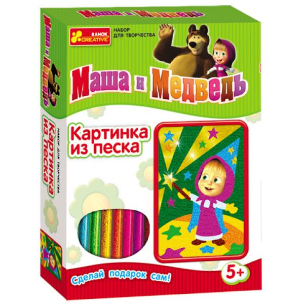 21881 2009-9 Картинку iз пiску Маша i ведмiдь