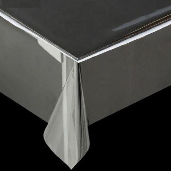 29744 1086 Клеенка ПВХ в рулоне силикон прозрачная 1.40*30м