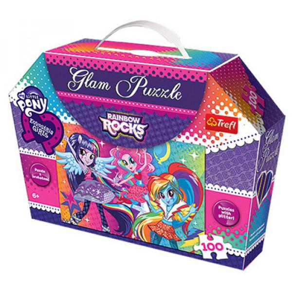 10509 100 Glam - Веселковий рок Гламур / Hasbro Equestria Girls