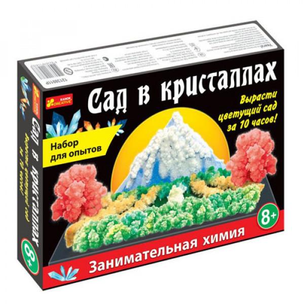 """17844 0262 Набір для дослідів """"Сад в кристалах"""" великий 12138011Р"""