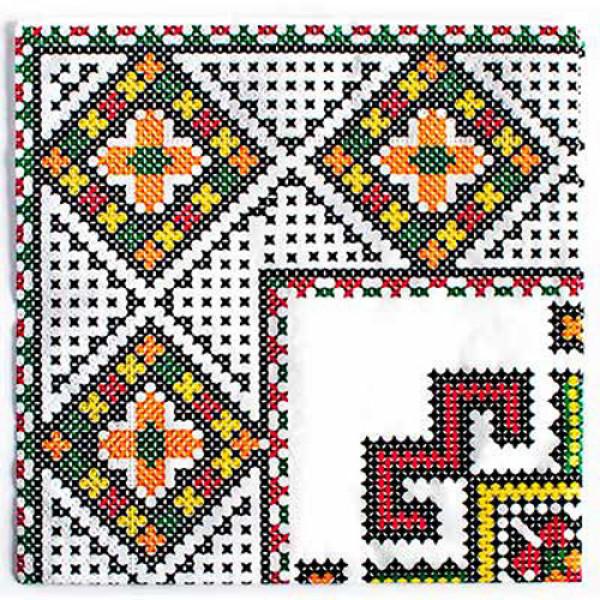 17080 1502-3125 Салфетка бум. с рис. украинская коллекция МИКС 33см 20 ед.