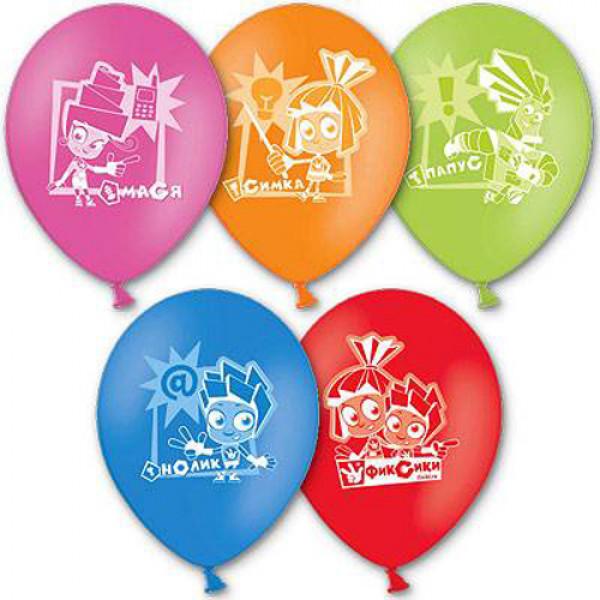 """26642 1103-1120 Кулька з малюнком 12"""" """"Фіксікі"""" 50шт/упак"""