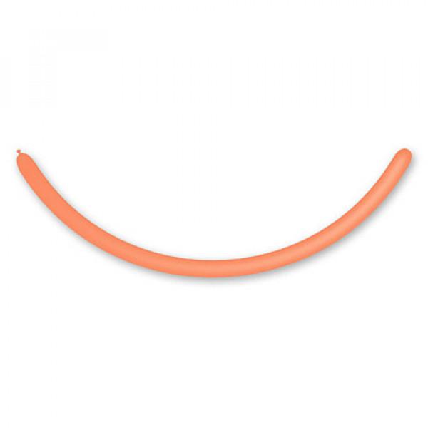 19397 1107-0021 Шарик ШДМ 260-2/04 пастель оранжевый