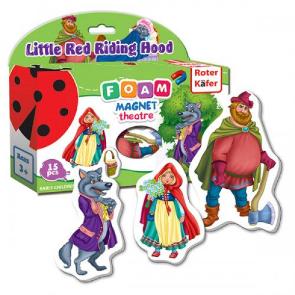23679 Magnetic theater Little Red Riding Hood RK2102-04