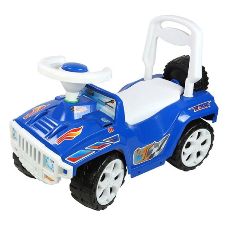 2726 Машинка для катания ОРИОНЧИК синяя ОРИОН 419 (640x305x390 мм)