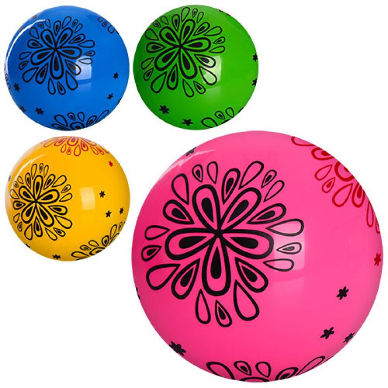 761f3185d778 Мяч детский MS 0977 (120шт) 9 дюймов, рисунок, ПВХ, 60-65г, 4цвета ...