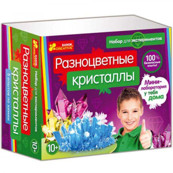 """16149 0308-1 Набор для экспериментов """"Разноцветные кристаллы"""" 12115010Р"""