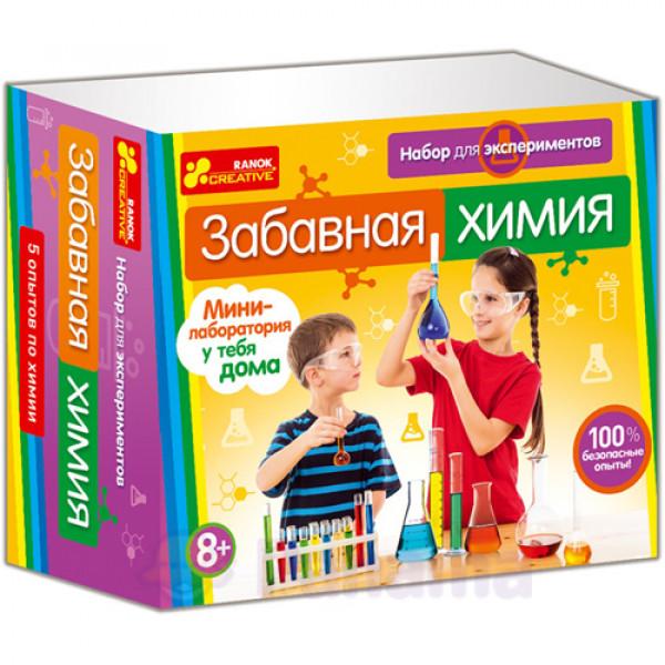 """16517 0308 Набор для экспериментов """"Забавная химия"""" 12115009Р"""