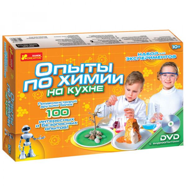"""16511 0330 Набор для экспериментов """"Опыты по химии на кухне"""" 12114043Р"""