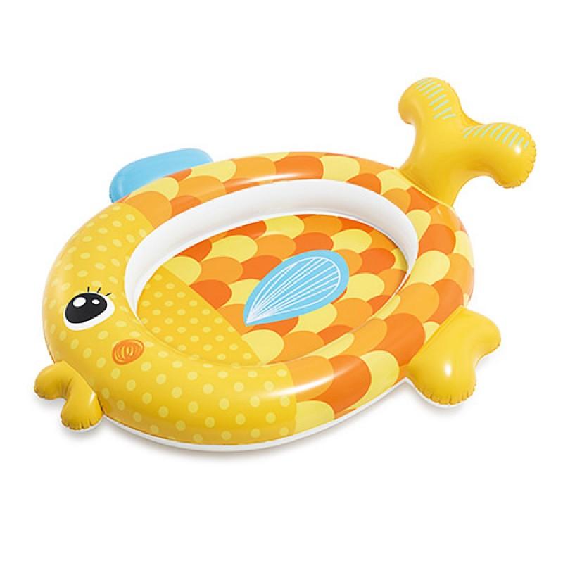 50424 Бассейн 57111 (6шт) Золотая рыбка, 140-24-34см, ремкомплект, 1-3года, в кор-ке,