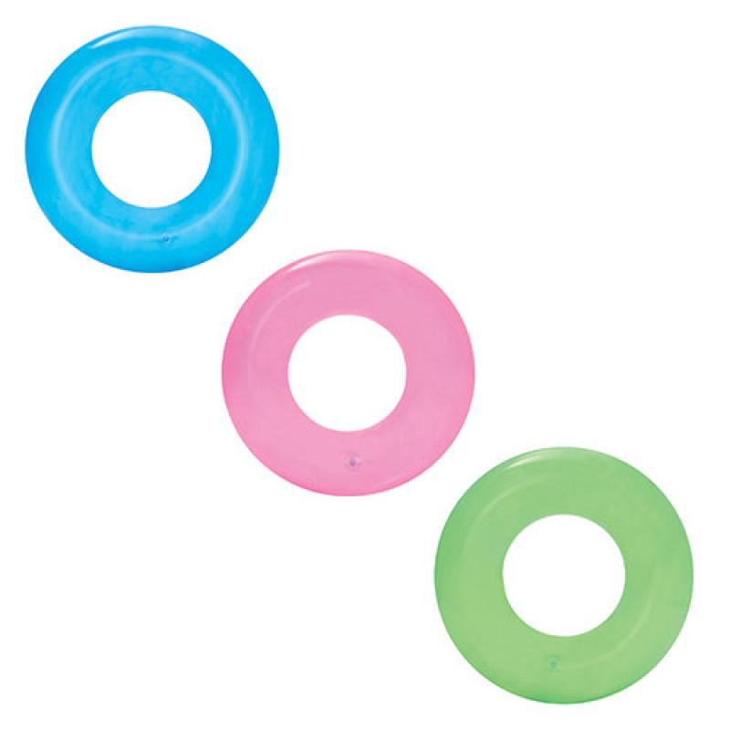 20097 BW Круг 36022 (36шт) прозрачный, 51см, 3 цвета,