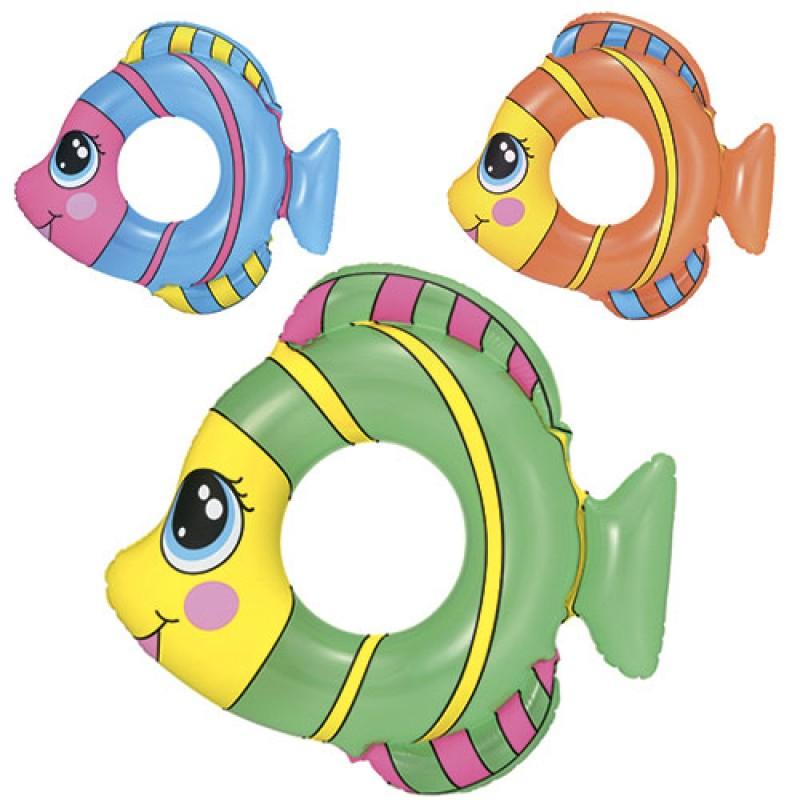 16037 BW Круг 36111 (36шт) рыбка, 3 цвета, 81-76см,