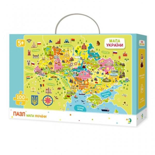 39030 300109 Пазл Мапа України