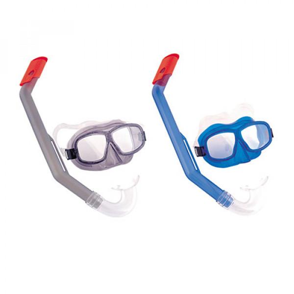 24141 BW Набор для плавания 24016 (6шт) маска+трубка, 2 цвета