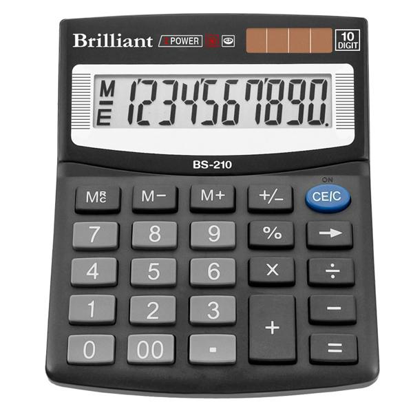 48224 /Калькулятор BS-210 10р., 2-пит