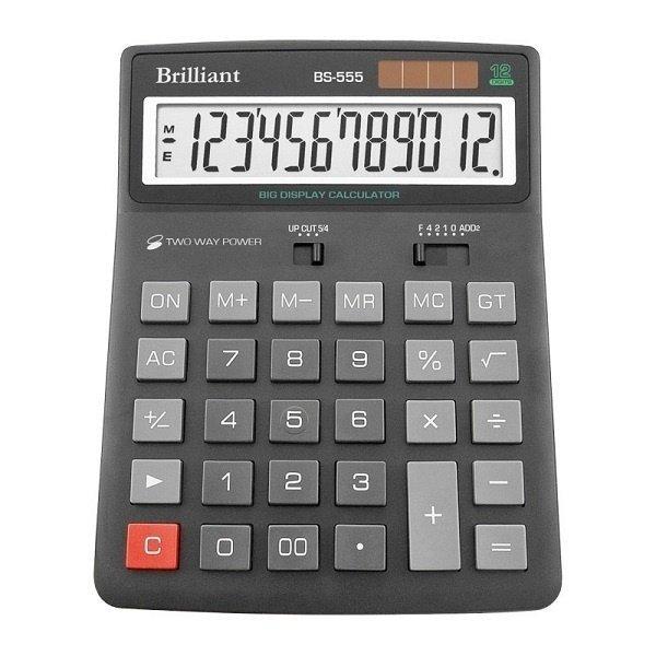 48228 /Калькулятор BS-555 12р., 2-пит
