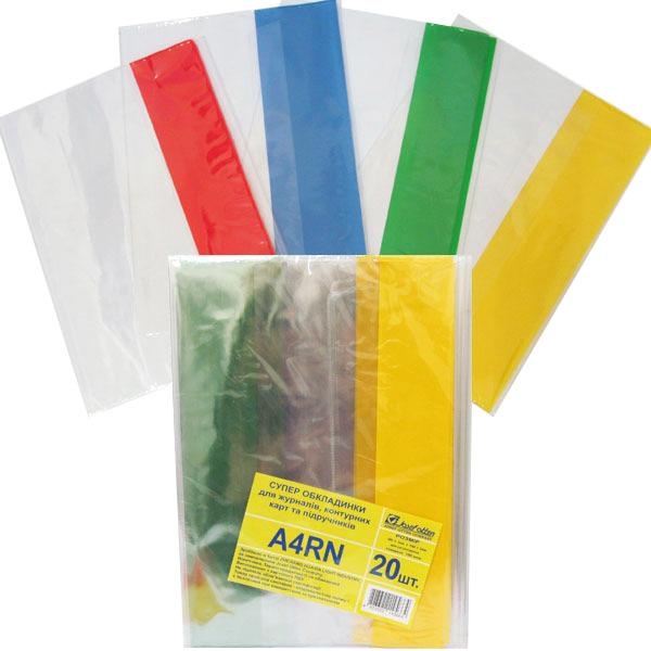 37072 A4RN (TM-2609) Обложка 100мкм формата А4 ПВХ регулируемая / 20
