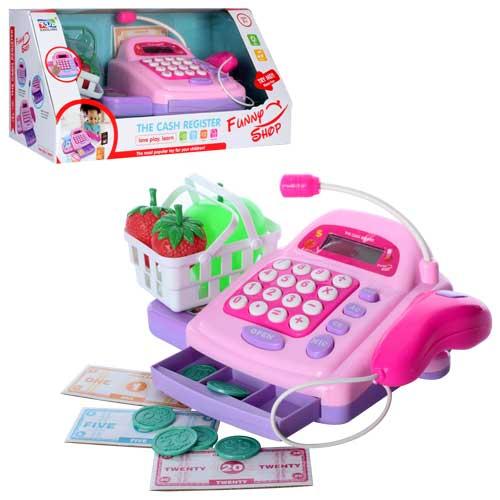Касовий апарат KDL888-5 калькулятор,  сканер,  муз.,  світло,  мікрофон,  продукти,  бат.,  кор.,  37-17-18