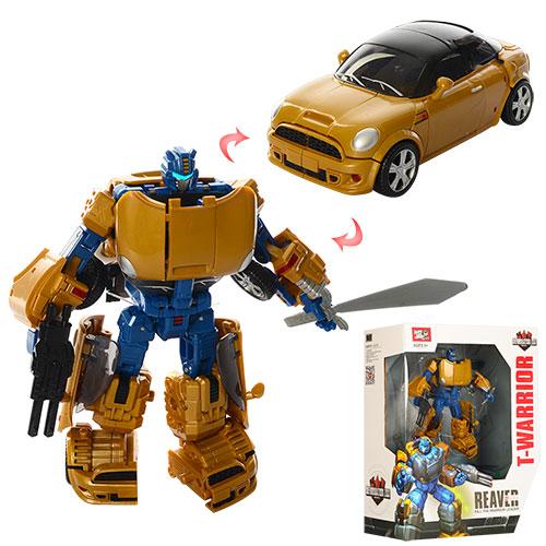 Трансформер J8027  17см,  робот-машина,  оружие,  в кор-ке,  27-31, 5-12см