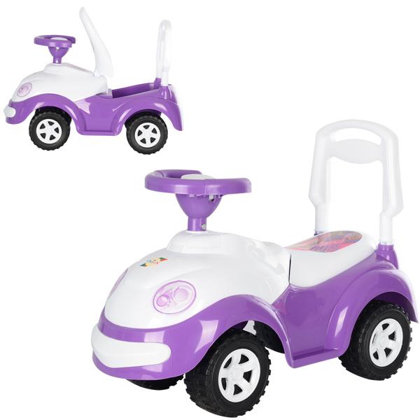 Машинка для катания ЛУНОХОДИК фиолетовая ОРИОН 174 (670x290x460 мм)