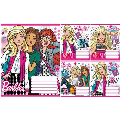 А5/12 кл. ЗУ Barbie School -17 тетрадь ученич.