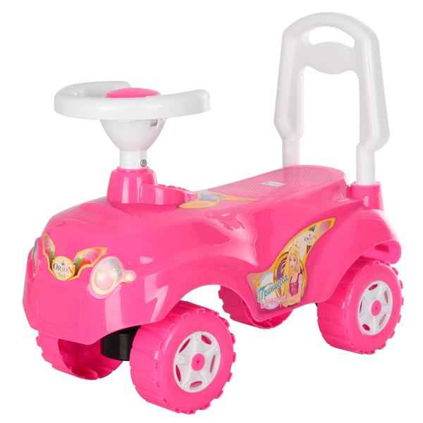 Машинка для катания МИКРОКАР ярко-розовый ОРІОН 157 (550x250x470 мм)