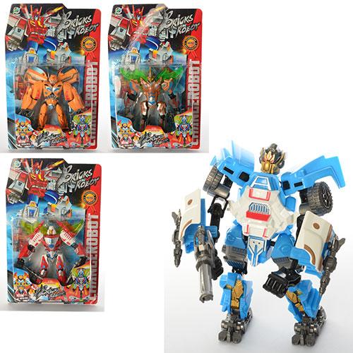 Трансформер 18-5  робот,  18см,  4вида,  на листе,  37, 5-23, 5-5, 5см