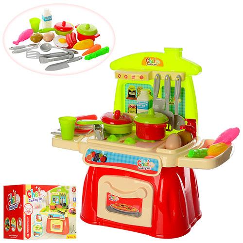 Кухня 922-26  51, 5-25-53см,  плита-зв, свет,  посуда, на бат-ке,  в кор-ке,  28, 5-22, 5-22см